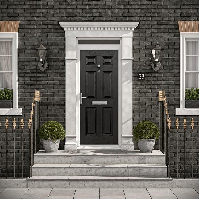 GRP Composite front, back & exterior doors - Hurst Doors