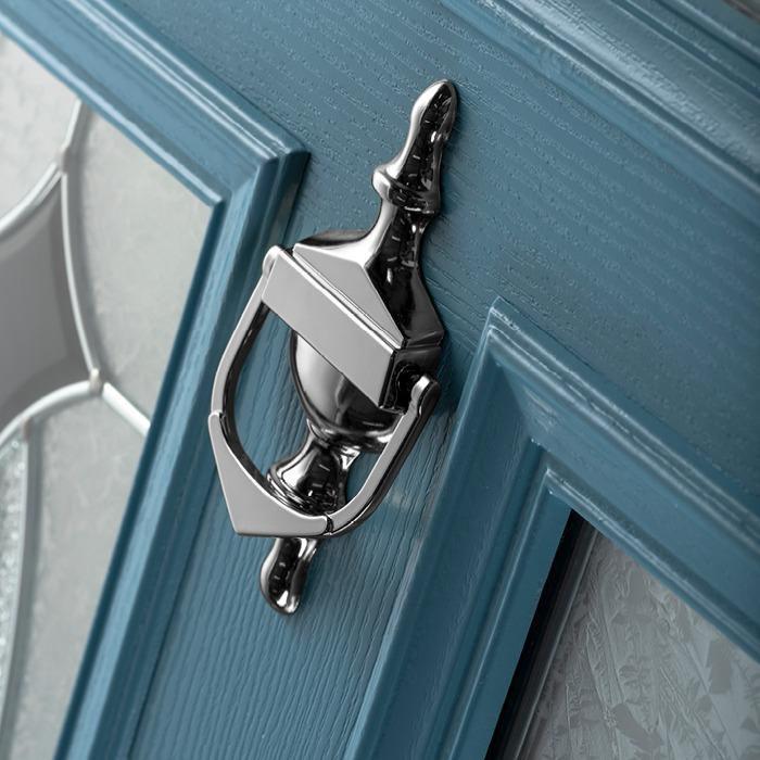 silver knocker - Hurst Doors
