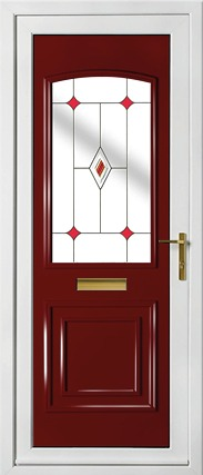 Balmoral One Classic Fused Jewel Red